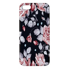 Vintage Colorful Flower  Iphone 5s/ Se Premium Hardshell Case by Brittlevirginclothing