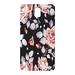 Vintage Colorful Flower  Samsung Galaxy Note 3 N9005 Hardshell Back Case by Brittlevirginclothing