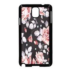 Vintage Colorful Flower  Samsung Galaxy Note 3 Neo Hardshell Case (black) by Brittlevirginclothing