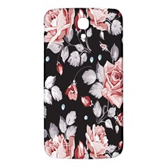 Vintage Colorful Flower  Samsung Galaxy Mega I9200 Hardshell Back Case by Brittlevirginclothing