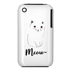 Cute Kitty  Iphone 3s/3gs by Brittlevirginclothing