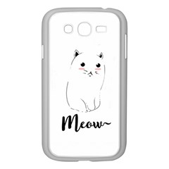 Cute Kitty  Samsung Galaxy Grand Duos I9082 Case (white) by Brittlevirginclothing