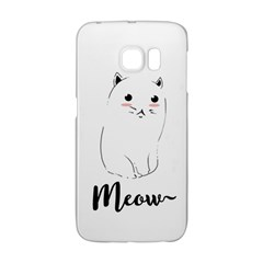 Cute Kitty  Galaxy S6 Edge by Brittlevirginclothing