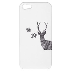 Oh Dear  Apple Iphone 5 Hardshell Case by Brittlevirginclothing