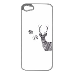 Oh Dear  Apple Iphone 5 Case (silver) by Brittlevirginclothing