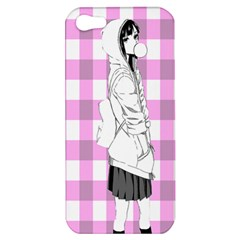 Cute Anime Girl  Apple Iphone 5 Hardshell Case by Brittlevirginclothing