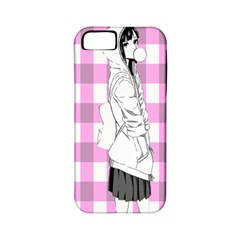 Cute Anime Girl  Apple Iphone 5 Classic Hardshell Case (pc+silicone) by Brittlevirginclothing