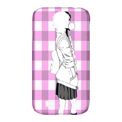 Cute Anime Girl  Samsung Galaxy S4 Classic Hardshell Case (pc+silicone) by Brittlevirginclothing