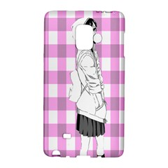Cute Anime Girl  Galaxy Note Edge by Brittlevirginclothing