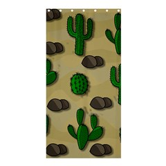 Cactuses Shower Curtain 36  X 72  (stall)  by Valentinaart