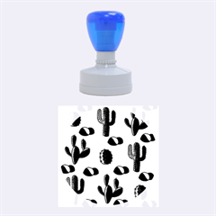 Cactuses Rubber Round Stamps (medium) by Valentinaart