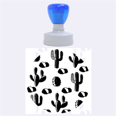 Cactuses Rubber Round Stamps (large) by Valentinaart