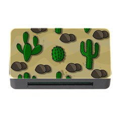 Cactuses Memory Card Reader With Cf by Valentinaart
