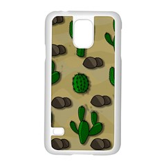 Cactuses Samsung Galaxy S5 Case (white)
