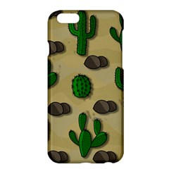 Cactuses Apple Iphone 6 Plus/6s Plus Hardshell Case by Valentinaart