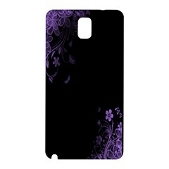 Beautiful Lila Flower  Samsung Galaxy Note 3 N9005 Hardshell Back Case by Brittlevirginclothing