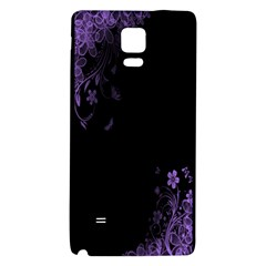 Beautiful Lila Flower  Galaxy Note 4 Back Case by Brittlevirginclothing