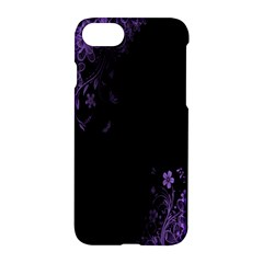 Beautiful Lila Flower  Apple Iphone 7 Hardshell Case by Brittlevirginclothing