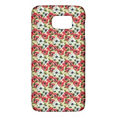 Gorgeous Red Flower Pattern  Galaxy S6