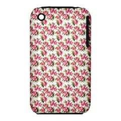 Gorgeous Pink Flower Pattern Iphone 3s/3gs by Brittlevirginclothing