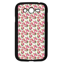 Gorgeous Pink Flower Pattern Samsung Galaxy Grand Duos I9082 Case (black) by Brittlevirginclothing