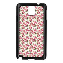 Gorgeous Pink Flower Pattern Samsung Galaxy Note 3 N9005 Case (black) by Brittlevirginclothing