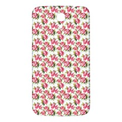 Gorgeous Pink Flower Pattern Samsung Galaxy Mega I9200 Hardshell Back Case by Brittlevirginclothing