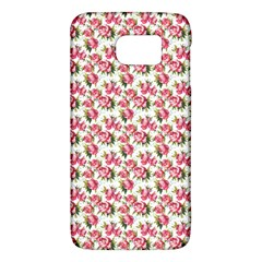 Gorgeous Pink Flower Pattern Galaxy S6 by Brittlevirginclothing