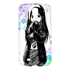 Shy Anime Girl Samsung Galaxy S4 I9500/i9505 Hardshell Case by Brittlevirginclothing
