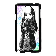 Shy Anime Girl Samsung Galaxy Note 3 Neo Hardshell Case (black) by Brittlevirginclothing