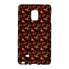 Exotic Colorful Flower Pattern  Galaxy Note Edge