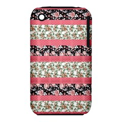 Cute Flower Pattern Iphone 3s/3gs by Brittlevirginclothing