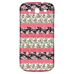 Cute Flower Pattern Samsung Galaxy S3 S Iii Classic Hardshell Back Case by Brittlevirginclothing