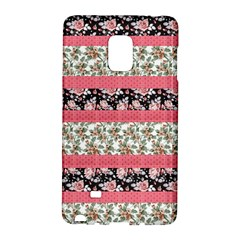 Cute Flower Pattern Galaxy Note Edge by Brittlevirginclothing