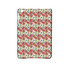 Gorgeous Red Flower Pattern  Ipad Mini 2 Hardshell Cases by Brittlevirginclothing