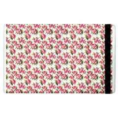 Gorgeous Pink Flower Pattern Apple Ipad 3/4 Flip Case by Brittlevirginclothing