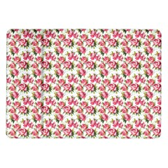 Gorgeous Pink Flower Pattern Samsung Galaxy Tab 10 1  P7500 Flip Case by Brittlevirginclothing