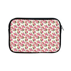 Gorgeous Pink Flower Pattern Apple Ipad Mini Zipper Cases by Brittlevirginclothing