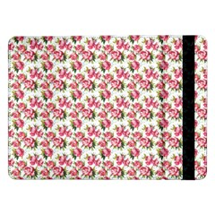 Gorgeous Pink Flower Pattern Samsung Galaxy Tab Pro 12 2  Flip Case by Brittlevirginclothing