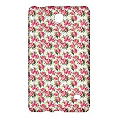 Gorgeous Pink Flower Pattern Samsung Galaxy Tab 4 (8 ) Hardshell Case  by Brittlevirginclothing