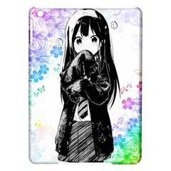 Shy Anime Girl Ipad Air Hardshell Cases by Brittlevirginclothing
