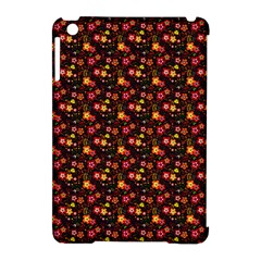 Exotic Colorful Flower Pattern  Apple Ipad Mini Hardshell Case (compatible With Smart Cover) by Brittlevirginclothing