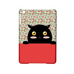 Cute Kitty Hiding Ipad Mini 2 Hardshell Cases by Brittlevirginclothing