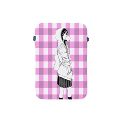 Cute Anime Girl  Apple Ipad Mini Protective Soft Cases by Brittlevirginclothing