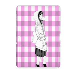 Cute Anime Girl  Samsung Galaxy Tab 2 (10 1 ) P5100 Hardshell Case  by Brittlevirginclothing