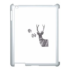 Oh Dear  Apple Ipad 3/4 Case (white) by Brittlevirginclothing