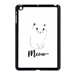 Cute Kitty  Apple Ipad Mini Case (black) by Brittlevirginclothing