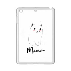 Cute Kitty  Ipad Mini 2 Enamel Coated Cases by Brittlevirginclothing
