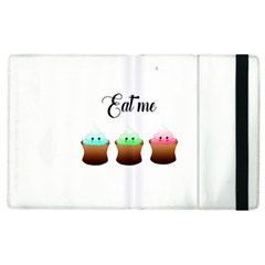 Eat Me Cupcakes Apple Ipad 3/4 Flip Case by Brittlevirginclothing