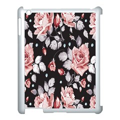Vintage Flower  Apple Ipad 3/4 Case (white) by Brittlevirginclothing